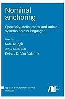 Nominal anchoring