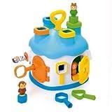 Smoby - 211325 - Jouet de Premier Age - Cotoons Maison des Formes - Bleu