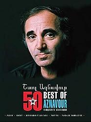 Aznavour Charles Best Of 50 Titres P/V/G + 2 chansons Bonus