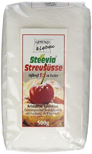 Gesund & Leben Steevia Streusüsse, 500g