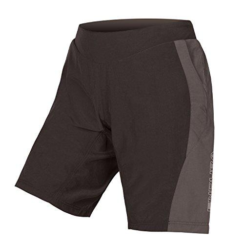 Endura Pulse Baggy - Pantalón corto de ciclismo para mujer, Pantalones cortos de ciclismo., XS, Negro