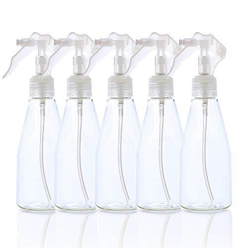 スプレーボトル 霧吹き PET 200ml*5 噴霧器材 スプレー容器 消毒用 ボトル 小分けボトル 噴霧器 空ボトル 散水用具 極細ミスト