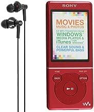Walkman 4gb Music Player Nwz-e473 W' Fm Radio - Red