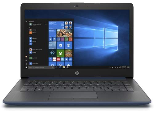 HP Stream 14-cm0038na laptop 14' Blue - AMD A4-9125 dual-Core 2.3GHz, 4GB memory, 64GB storage, AMD radeon R3 graphics, Windows 10 home S mode