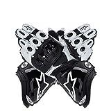 Guantes de Moto,Men Outdoor Motorbike Waterproof Gloves Motocicleta Full Finger Touch Screen Racing Motocross Guantes,para Bicicleta, Escalada,Motocross y Otros Deportes al Aire Libre (Negro, XL)