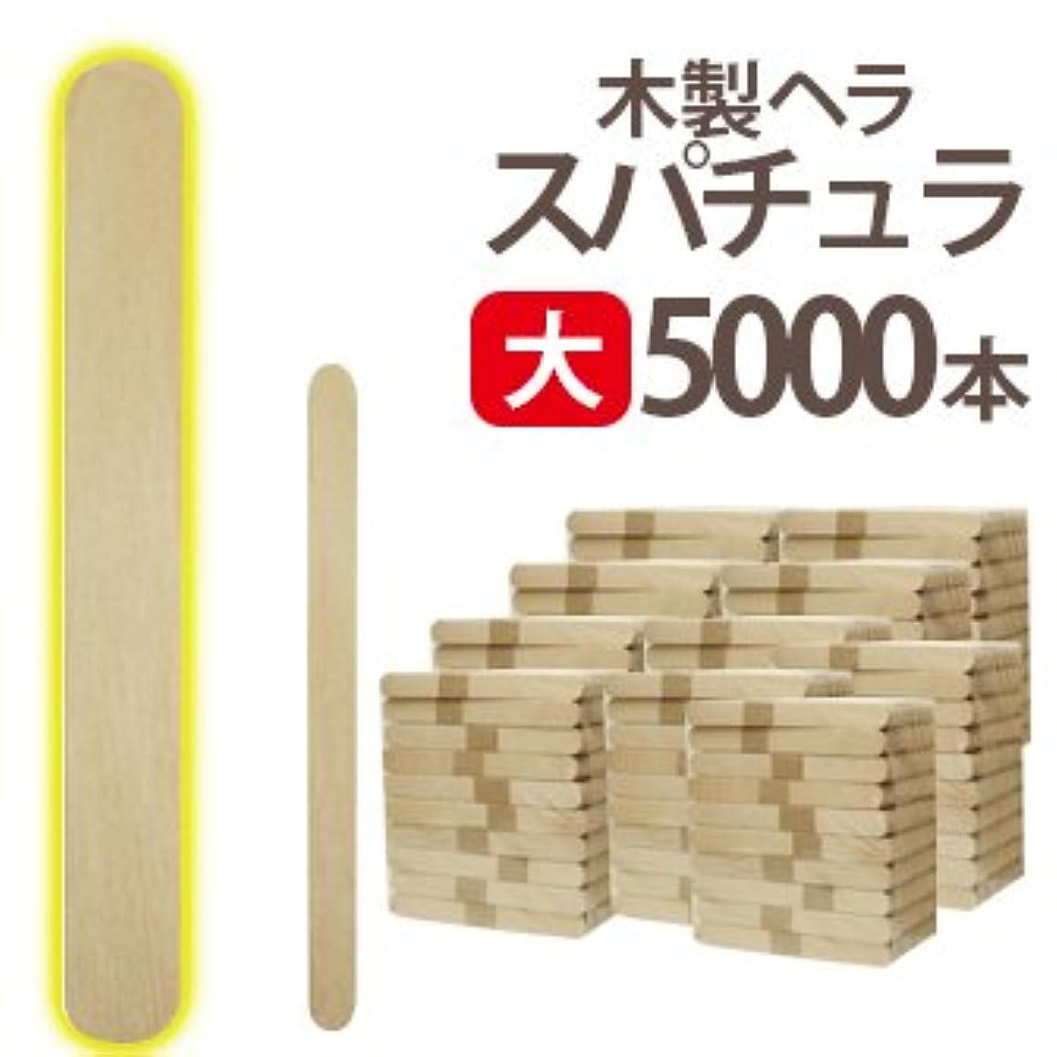たっぷり大破柔らかい大 ブラジリアンワックス 業務用5000本 スパチュラ Aタイプ(個別梱包なし 150×16)