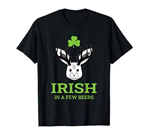 Irish in a few beers - bayrisches Wolpertinger Bier Pub T-Shirt