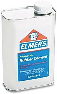 Elmer's 233 Rubber Cement, Repositionable, 1 qt