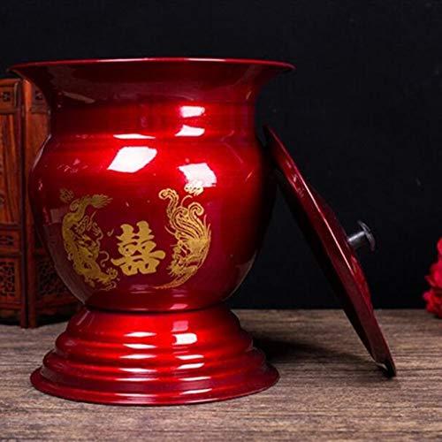QenDsx Productos Artesanales Antiguos Clásicos Chinos, Utensilios para Platos De Frutas sobre La Mesa, Suministros De Boda, Compota De Escupidera Esmaltada
