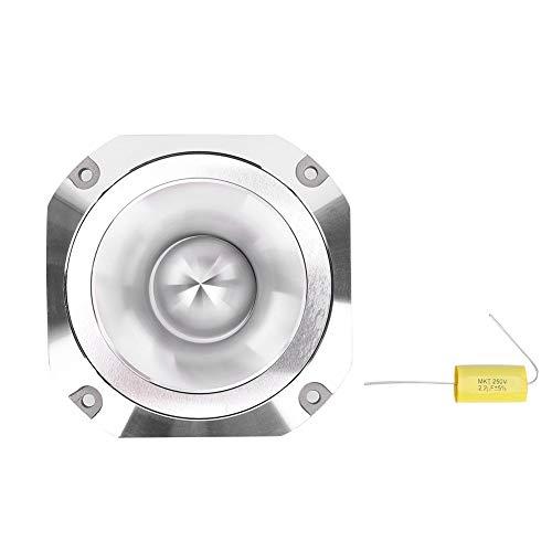Vikenar Estéreo de Aluminio Color Plata del Coche Auto de Altavoces de Alta fidelidad de Audio coaxial del Altavoz