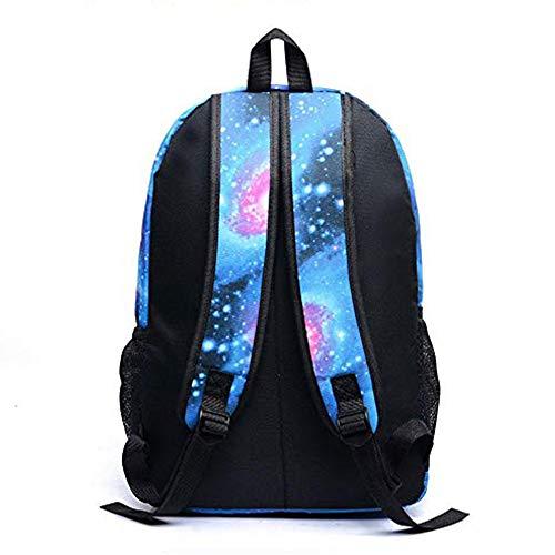 Luminous Fortnitcc - DDFHK Mochila Escolar para Adolescentes niños y niñas