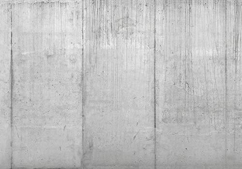 wandmotiv24 Fototapete Beton-wand Grau Rohbau XXL 400 x 280 cm - 8 Teile Fototapeten, Wandbild, Motivtapeten, Vlies-Tapeten Mauer, Wand, Beton M1433