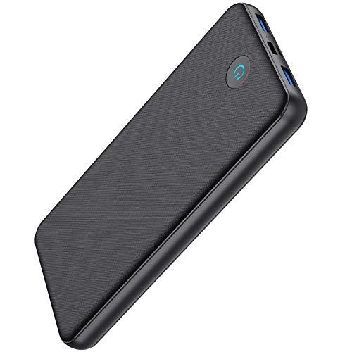 SWEYE Batterie Externe 26800mAh【Charge Rapide】, Portable Power Bank [18W PD Type-C QC 3.0] avec 2 Entrée & 3 Sortie, Chargeur Externe Batterie de Secours pour Smartphones Tablettes, USB Appareil
