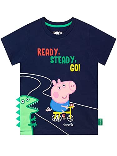 Peppa Wutz Jungen George Wutz T-Shirt 110 cm