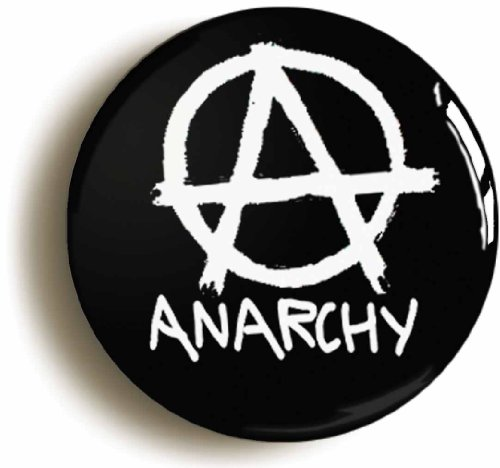 Anarchy Logo Punk Pin Badge