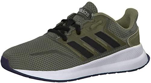 adidas RUNFALCON K, Zapatillas de Running, CAQPUR/NEGBÁS/FTWBLA, 34 EU