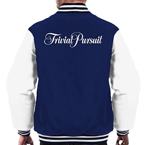 Hasbro Trivial Pursuit Logo Men's Varsity Jacket