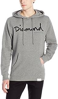 Diamond Supply Co. Men's Og Script Pullover Hoodie