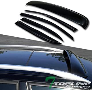 Topline Autopart Smoke Window Deflector Vent Shade Guard...