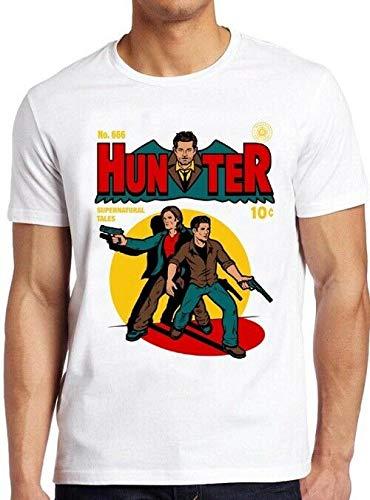 Hunter Comic T Shirt Supernatural Vintage Funny tee 156