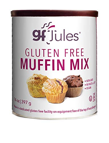 gfJules Gluten Free Muffin Mix - Voted #1 by GF Consumers, 0.85 lb Can, Pack of 1