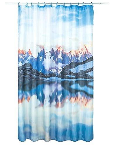 miomare douchegordijn, 180 x 200 cm Bergsee
