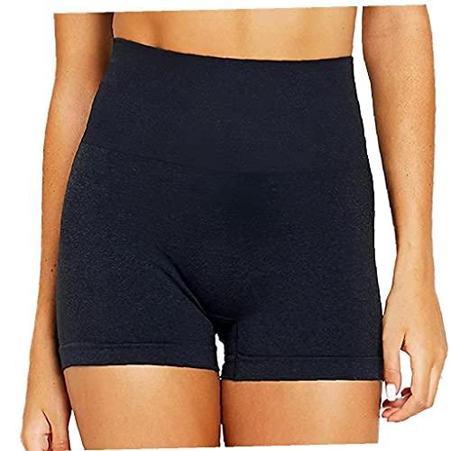 EElabper Butt Scrunch Yoga Shorts Für Frauen Hohen Taille Und Workout Gym Shorts Booty Spandex Gymnastik-Trainings-Shorts -Hosen Rosa XL