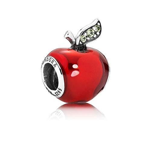 Pandora - Abalorio con diseño de manzana de Blancanieves