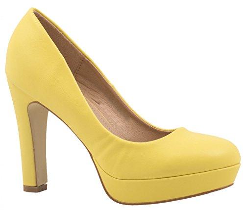 Elara Zapato de Tacón Alto Mujer Plataforma Chunkyrayan