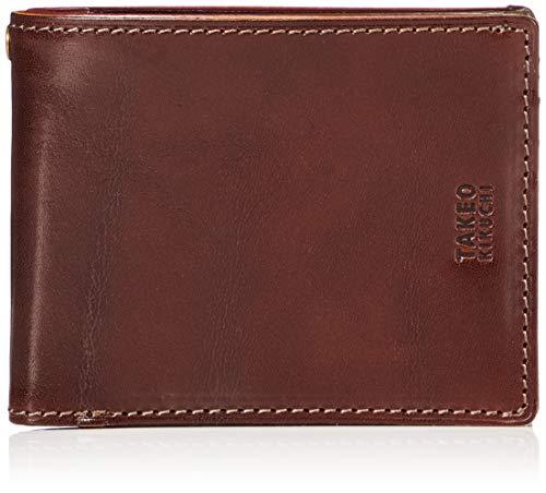 [タケオキクチ] 財布 エリア 266615 チョコ