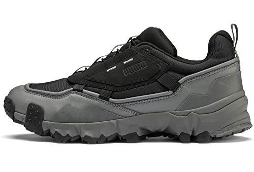 Puma Herren Trailfox Overland MTS Sneaker, Schwarz Black-Castlerock 01, 38.5 EU