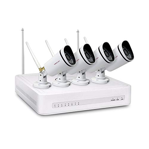 Foscam FN3104W Wired & Wireless 4channels video surveillance kit -...