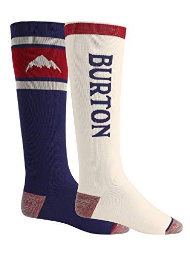 Burton Herren Snowboard Socken Weekend Midweight, Mood Indigo, M, 14926103400