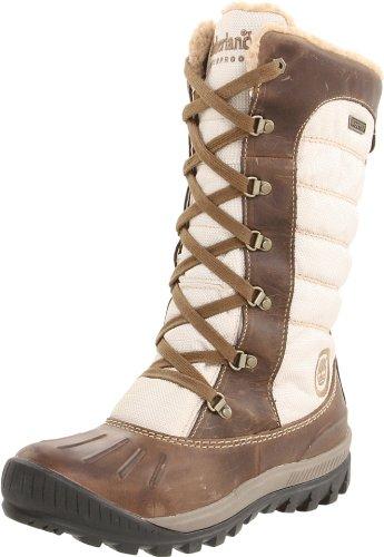 Timberland Damen FTW_EK Mount Holly F/L Lace Duck WP Boot Schneestiefel Braun (LIGHT BROWN) 37.5 EU