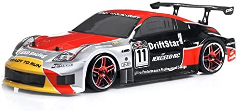 Exceed RC 2.4Ghz Brushless Version Drift Star Electric Powered RTR Remote Control Drift Racing Car 350 Red Style