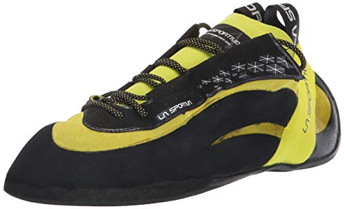 La Sportiva Men's Miura Climbing Shoe, Lime, 42
