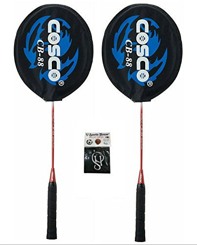 cosco cb 88 badminton racquet (pack of 2)