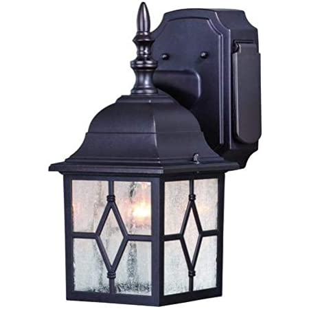 Galeana Oil Rubbed Bronze 12 5 Outdoor Wall Light W Gfci Outlet