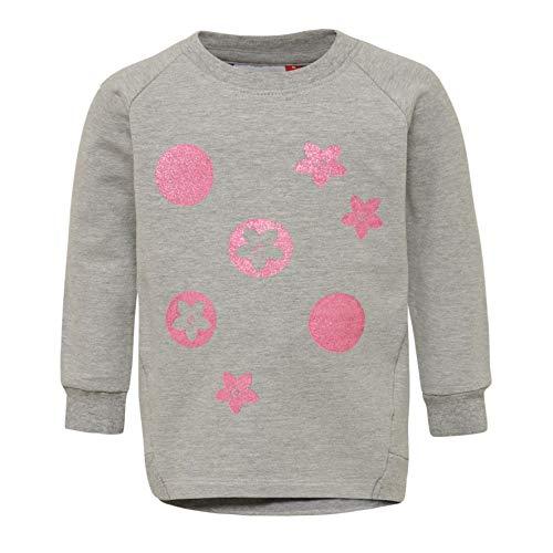 LEGO Wear LWTESSIE Baby-Mädchen 750 Sweatshirt, Grau (Grey Melange 921), (Herstellergröße: 104)