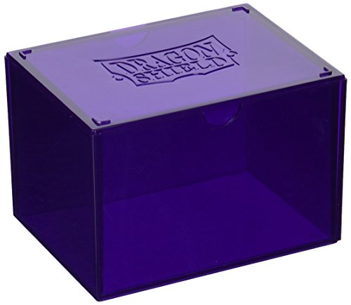 Arcane Tinmen ART20009 Dragon Shield Gaming Box Sammelbox, Purple