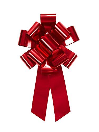 riesen wasserabweisende, rote Autoschleife oder Geschenkschleife
