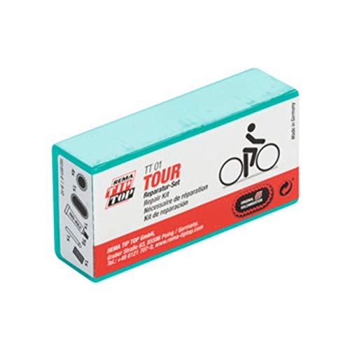 W01230103 Rema TIP-TOP TT01/05 - 7 o. 9-teilig - Fahrrad Flickzeug Reparaturset (1 x TT05)