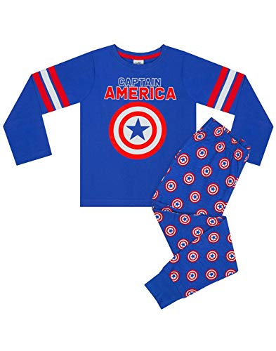 Marvel Captain America Shield Logo Pijamas para niños