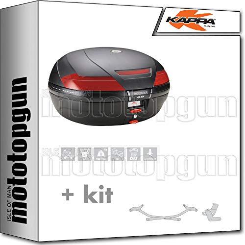 KAPPA MALETA K49N 47 LT + PORTAEQUIPAJE MONOKEY COMPATIBLE CON BMW K75 750