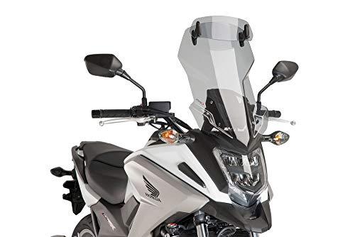 Puig Tourenscheibe mit Luftspoiler Honda NC750X 2016- leicht getönt 30% Verkleidungsscheibe