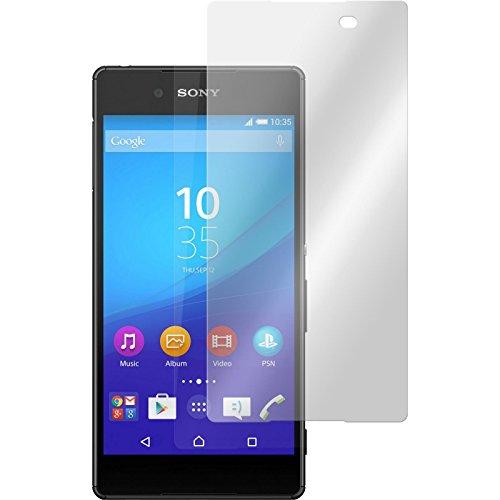 PhoneNatic 2 x Glas-Folie klar kompatibel mit Sony Xperia Z3+ / Plus - Panzerglas für Xperia Z3+ / Plus
