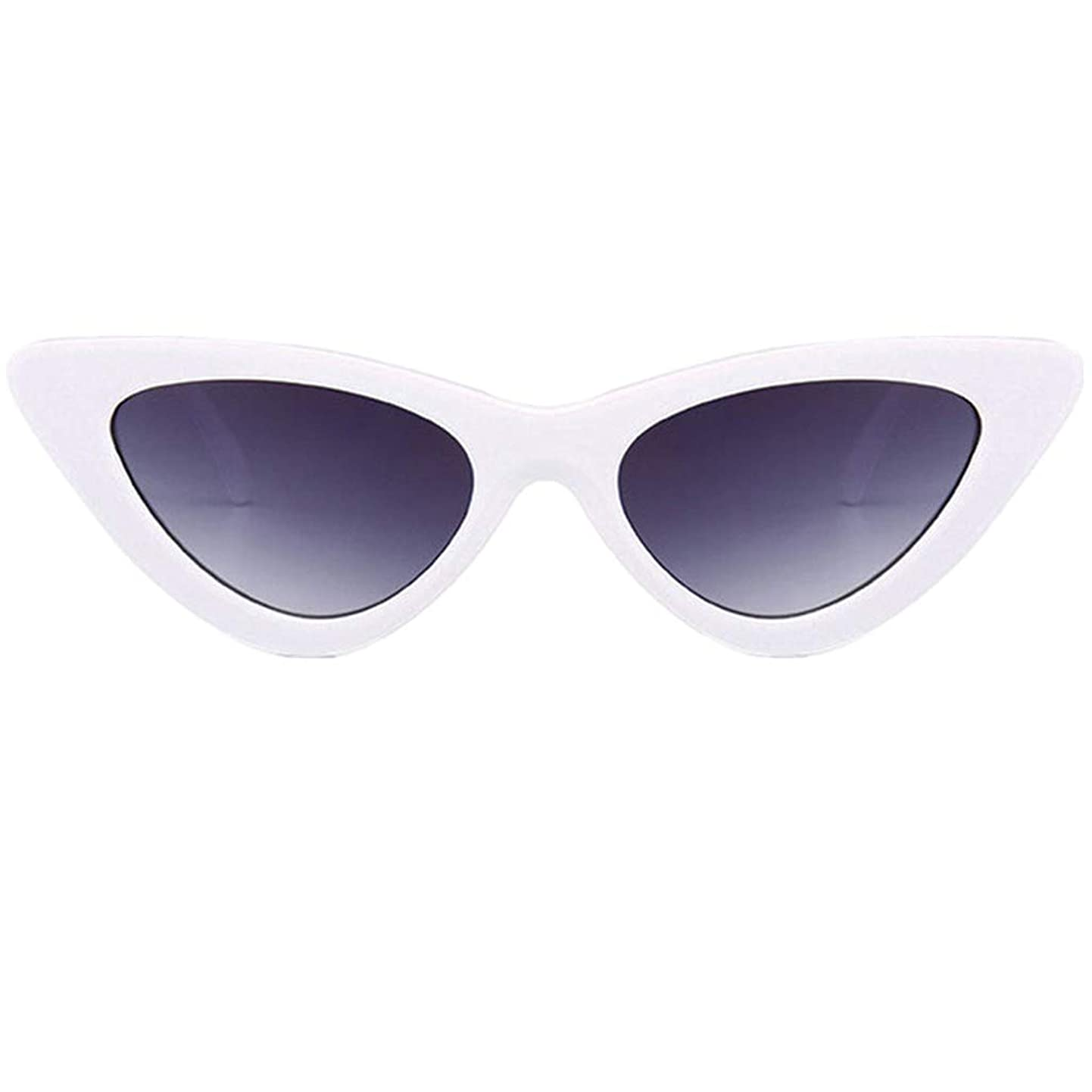 Tantisy ??? Retro Vintage Cateye Sunglasses for Women Clout Goggles Plastic Frame Glasses jwopocsimrv2