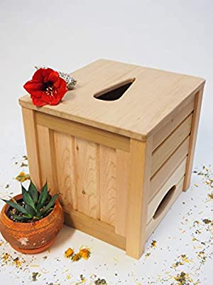 The Yoni Sauna: Portable Sauna Steam Box Seat, Solid Natural Cedar Crafted, No Synthetic Wood