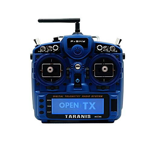 FrSky Taranis X9D Plus SE 2019 Transmitters 24 Channels with The Upgraded switches and M9 Hall Sensor Gimbals(Midnight Blue)