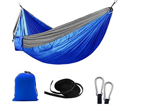 WHEEJE Fishing Chair Chair Hammock Comfortable Outdoor Double Adult Indoor Sleep Leisure Camping Camping Portable Swing Simple Parachute Chair Lazy Cloth 2 X 200 cm High Load-Bearing